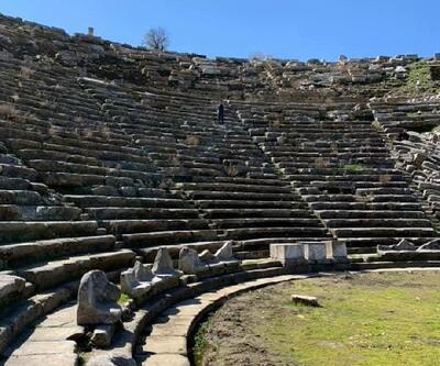 'Gladyatörler Şehri'nin tiyatrosu gün ışığına çıkıyor