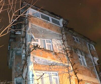 Dördüncü kattan düşen genç ağır yaralandı
