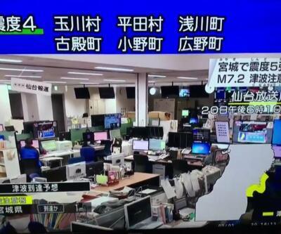 Son dakika... Japonya'da 7,2 büyüklüğünde deprem