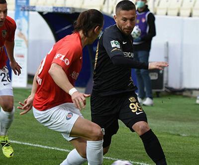 Yeni Malatyaspor - Gaziantep FK: 2-2