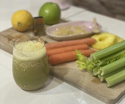 Bağışıklık sistemini güçlendirmek için 'smoothie' önerisi