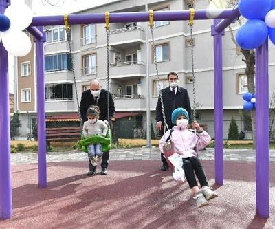 Osmangazi Belediyesi'nden Orhangazi'ye çocuk parkı