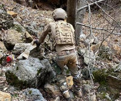 Tunceli'de teröristlerin kullandığı 2 sığınak kullanılamaz hale getirildi