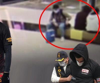 Son dakika... Mostafa Mohamed'in çantasının çalınma anı kamerada!