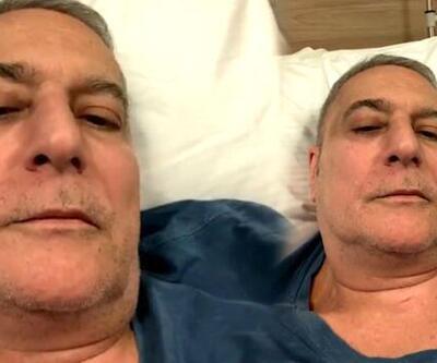Mehmet Ali Erbil hastaneye yattı: 16 şişe serum alıyorum
