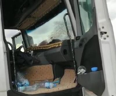 Jandarma ekiplerinin durdurduğu TIR'dan uyuşturucu çıktı