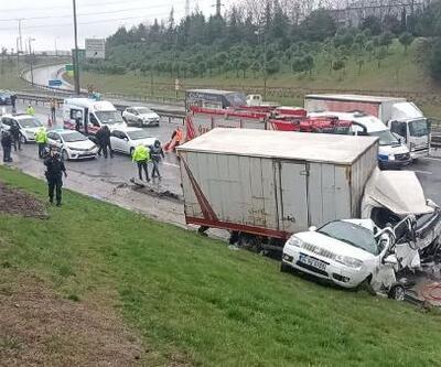Arnavutköy'de kaza: 4 yaralı