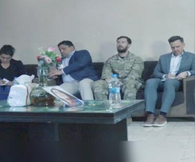 ABD temsilcisi Suriye'de terör örgütünün sözde temsilcileriyle görüştü