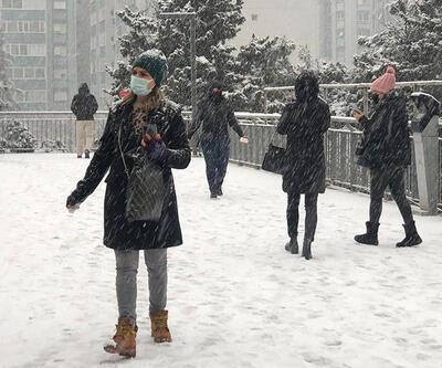 İstanbul'a mart sonu kar sürprizi