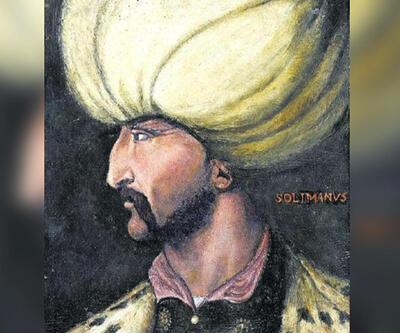 Kanuni'nin hiç görülmemiş portresi