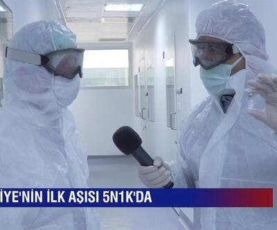 5N1K yerli koronavirüs aşısının üretildiği tesislere girdi, merak edilenleri sordu