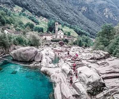 Turkuaz suları ve taş evleriyle bir Ortaçağ köyü; Lavertezzo! Emre Ünlü yazdı...