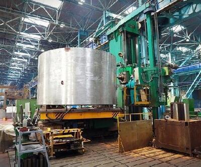 Akkuyu NGS'nin 1'inci güç ünitesi için pasif kor su basma sistemi üretimine başlandı