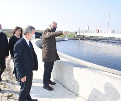 Keşan'da arıtılan su tarımsal sulamada kullanılacak
