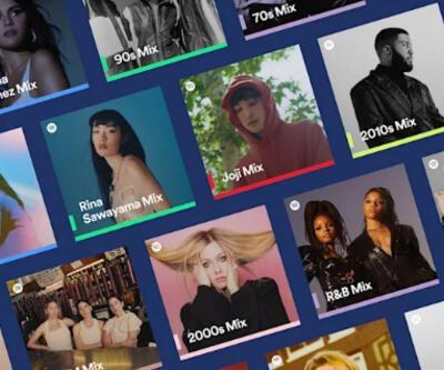 Spotify kişiselleştirilmiş mixler yenilendi