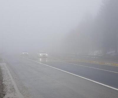 Bolu Dağı'nda sis etkili oldu
