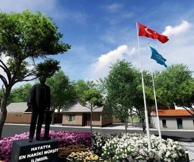 Aliağa Belediyesi'nden Helvacı'ya tarihi meydan projesi