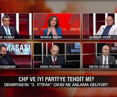 CHP ve İYİ Parti'ye tehdit mi? İmamoğlu-Yavaş rakip olacak mı? Muhalefetin adayı kim olur? CNN TÜRK Masası'nda tartışıldı