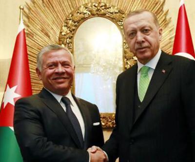 SON DAKİKA: Cumhurbaşkanı Erdoğan, Ürdün Kralı 2. Abdullah ile görüştü