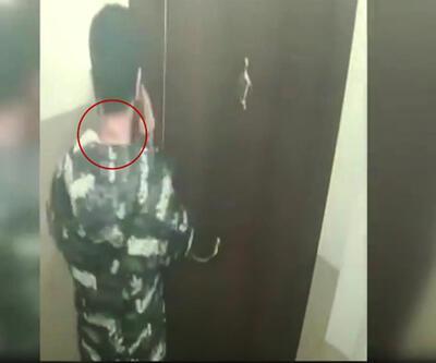 Hırsızı dövmesi yakalattı