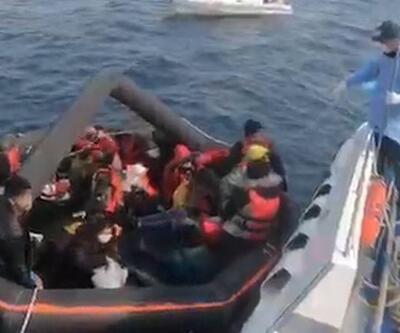 Ayvacık açıklarında 27 sığınmacı kurtarıldı
