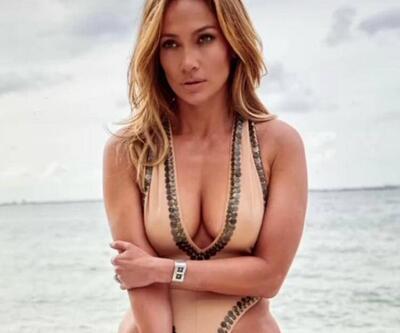 Jennifer Lopez, Miami sahillerini salladı