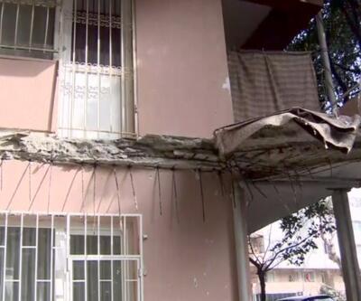 Riskli binalarda oturan site sakinleri endişeli