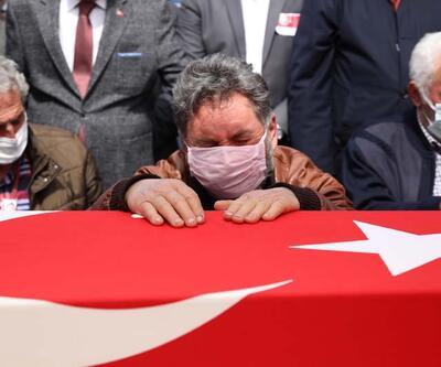 Pilot Yüzbaşı Gençcelep'in naaşı memleketi Trabzon'da toprağa verildi