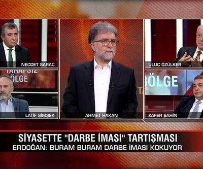"""Siyasette """"darbe iması"""" tartışması ve 55 bin sınırına dayanan vaka sayısı Tarafsız Bölge'de ele alındı"""