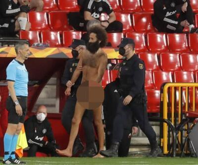 Avrupa Ligi'nde şok! Çırılçıplak sahaya girdi