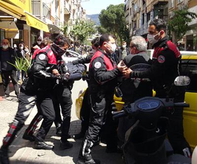 Polise 'kavga şakası' gerçek oldu