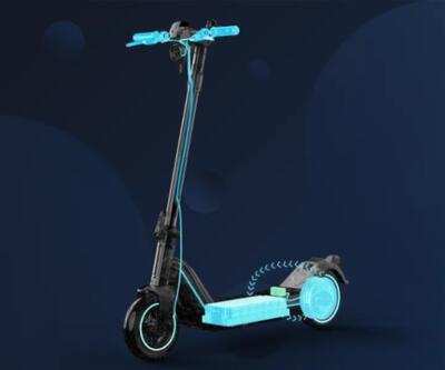Elektrikli scooter piyasaya sürdü