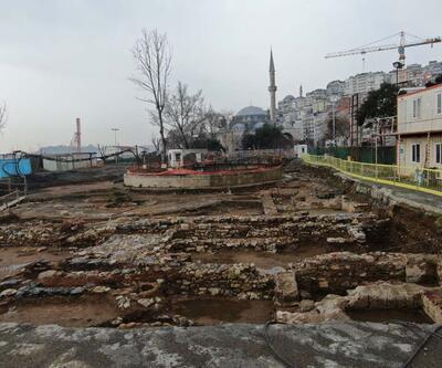 İstanbul'un tarihine ışık tutacak kalıntılar