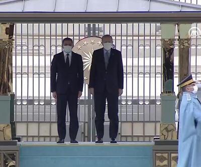 Cumhurbaşkanı Erdoğan, Libya Milli Birlik Hükümeti Başbakanı Dibeybe'yi Ankara'da ağırlıyor