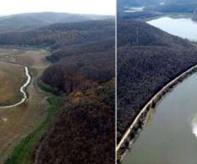 İstanbul'un Trakya'dan suyunu karşılayan barajlar hayat buldu