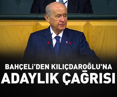 Bahçeli'den Kılıçdaroğlu'na adaylık çağrısı