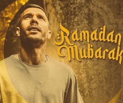 Podolski'den ramazan mesajı