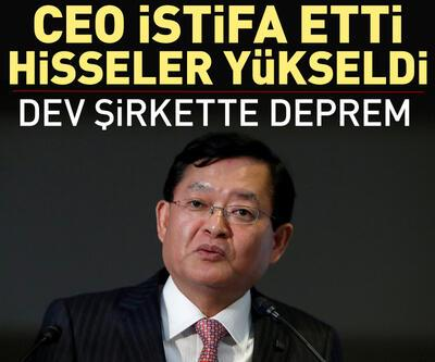 CEO istifa etti, hisseler yükseldi