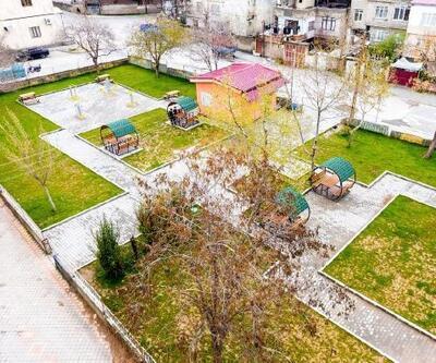 Dulkadiroğlu Belediyesi, Namık Kemal Parkı'nı yeniledi