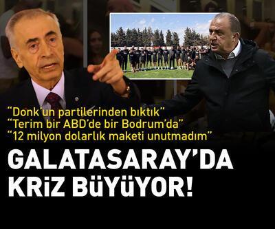 """Galatasaray'da kriz büyüyor! """"Donk'un partilerinden bıktık"""""""