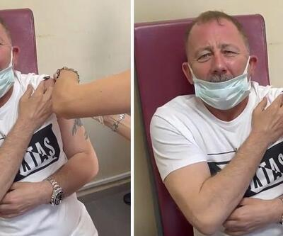 Sergen Yalçın aşı oldu