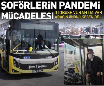 İETT otobüsü sürücülerinin pandemi mücadelesi