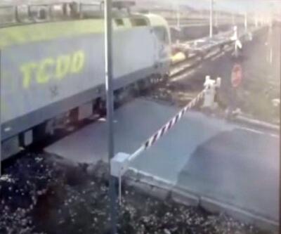 Adana'daki tren kazasının, güvenlik kamerası görüntüleri ortaya çıktı