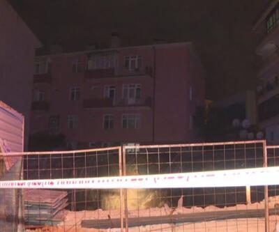 3 katlı bina toprak kayması nedeniyle boşaltıldı