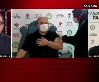 Yerli aşı olan Bakan Varank CNN TÜRK'e konuştu