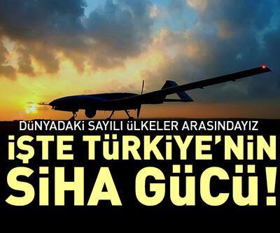 İşte Türkiye'nin SİHA gücü