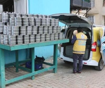 Şanlıurfa'da, ihtiyaç sahiplerine sıcak yemek dağıtımı