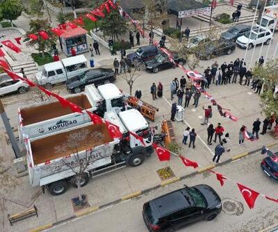 Keşan Belediyesi, 'Paşayiğit' ve 'Korudağ' isimli kar küreme araçlarını hizmete aldı