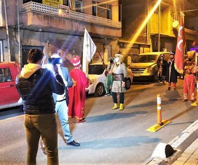 Süleymanpaşa'da Ramazan ruhu, sahur bandosu ve mehteran ile yaşatılıyor