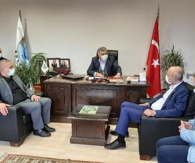 Bursa Milletvekili Işık, İznik Ticaret ve Sanayi Odası'nı ziyaret etti